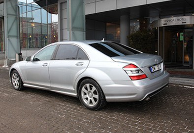 Mercedes Benz S500 Long AMG Silver