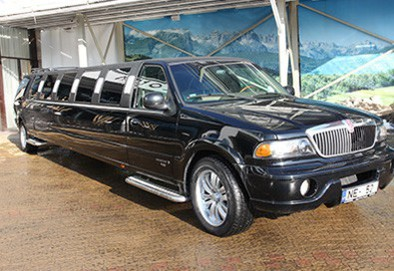 2007 Lincoln Navigator Super Stretch Black