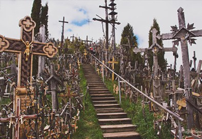 Riga to Hill Of Crosses, Lithuania Bus Tour